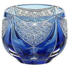 KAGAMI CRYSTAL カガミクリスタル 江戸切子 冷酒杯 神楽(伝統工芸士 根本達也) 100cc T747-2908CCB 盃