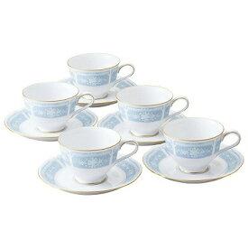 Noritake ノリタケ LACEWOOD GOLD レースウッドゴールド ティー・コーヒー碗皿セット(5客) H9587A/1507 カップ&ソーサー コーヒーカップ ティーカップ