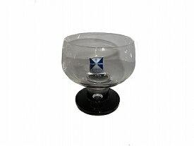 水崎ガラス MIZUSAKI GLASS 黒耀クリーム アイスクリームグラス デザートグラス【あす楽対応】