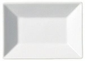陶里 第30集 ホワイトスクエアー 14cm長角皿 77807-110