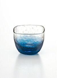 東洋佐々木ガラス 江戸硝子 八千代窯 冷酒杯 65ml 藍 10796 金 10797 盃