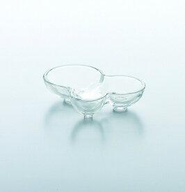 東洋佐々木ガラス 花かざり アミューズディッシュ TS44014 中皿