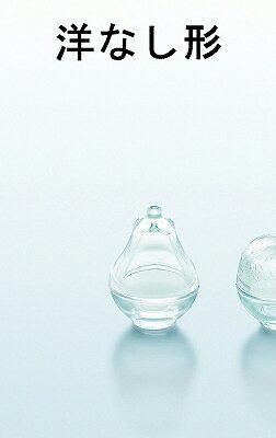 東洋佐々木ガラス 花かざり アミューズボックス 蓋物 洋なし形 TS44016 ゆず形 TS44017 オニオン形 TS44018