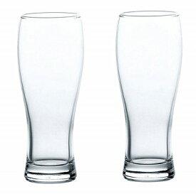 東洋佐々木ガラス タンブラーセット ビアグラス ビールグラス 370ml×2個(000542)