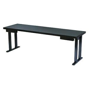 木製テーブル/座卓(和洋兼用)新畳ずり脚 黒乾漆 幕板無 1700084