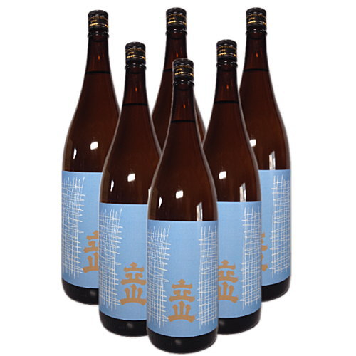 立山 本醸造 1800ml(6本セット)(送料無料 立山酒造 富山県 立山 日本酒 辛口)