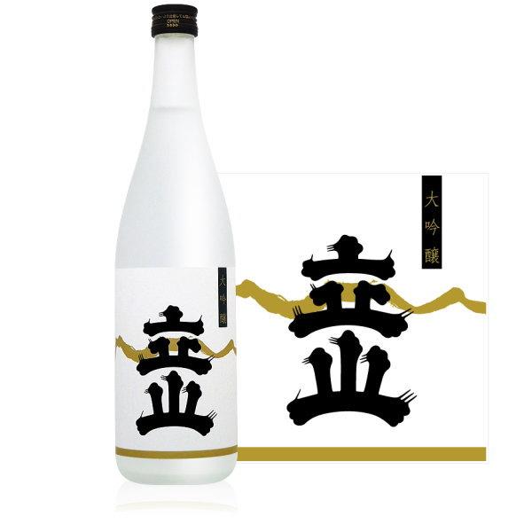 立山 大吟醸 720ml (立山酒造 富山県 立山 日本酒)父の日・お中元・お歳暮等の贈り物にもオススメ