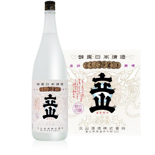 立山 兵庫県山田錦 純米吟醸 1800ml(立山酒造 富山県 日本酒)
