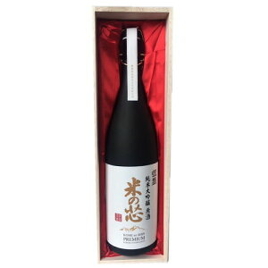 銀盤 純米大吟醸 原酒 米の芯 1800ml(桐箱入り)