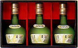 超特選 銀盤 米の芯 300ml 3本セット【楽ギフ_包装】(日本酒 地酒 ギフト 贈り物 セット 富山 北陸)★
