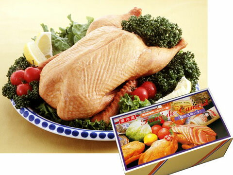 【送料無料】バルバリー種 青森県産鴨フュメ ド カナール(1羽燻製)約1.1kg / 鴨の燻製(鴨肉) お取り寄せ 通販 お土産 お祝い /