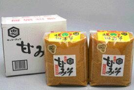 【送料無料】秋田みそ 甘みそ 3kg袋詰×2コ入 / お取り寄せ 通販 お土産 お祝い プレゼント ギフト ホワイトデー おすすめ /