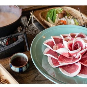 猪肉肩ロース2mmスライス鍋物用 【送料無料】 / 肉 イノシシ お取り寄せ 通販 お土産 バレンタイン /