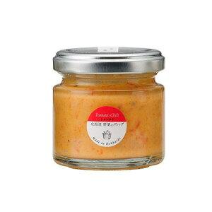 【送料無料】NORTH FARM STOCK(ノースファームストック)北海道野菜のディップ(トマト・チリ)120g×6セット / お取り寄せ 通販 お土産 お祝い プレゼント ギフト ホワイトデー おすすめ /
