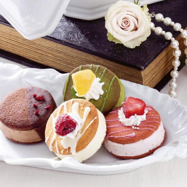 ラングドシャサンドアイス8個【送料無料】/アイスクリーム/スイーツ/洋菓子//お取り寄せ/通販/お土産/☆☆