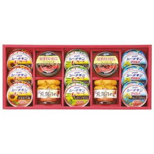 はごろもフーズ バラエティシーフードギフト VX-50 【送料無料】  / 缶詰 缶詰め お取り寄せ 通販 お土産 お祝い プレゼント ギフト ホワイトデー おすすめ /