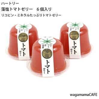 Ripe salt tomato jelly
