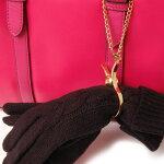グローブホルダー手袋ホルダーシンプルメンズレディースバッグチャームアンティークゴールドシルバーギフトプチギフトプレゼントおしゃれブランド