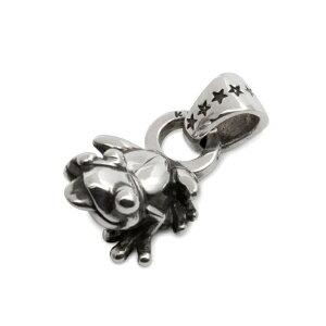 カエル 蛙 シルバー シルバー925 ネックレス ペンダント チャーム レディース メンズ ギフト プチギフト プレゼント おしゃれ ブランド SOLID DESIGN