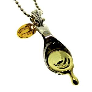スプーン ハチ蜜 蜂蜜 シルバー シルバー925 ネックレス ペンダント 真鍮 チャーム レディース メンズ ギフト プチギフト プレゼント おしゃれ ブランド SOLID DESIGN