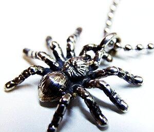 蜘蛛 タランチュラ スパイダー クモ シルバー シルバー925 ネックレス ペンダント チャーム レディース メンズ ギフト プチギフト プレゼント おしゃれ ブランド SOLID DESIGN