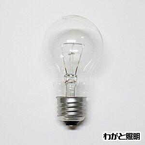 ◎アサヒ 一般球(一般電球) クリヤー 100V 40W形 E26口金 LC100V-40W/55