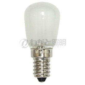 ◎アサヒ ナツメ球(豆球) ナシ型白熱ランプ ST28 E14口金 フロスト 15W  ST28E14110V15WF
