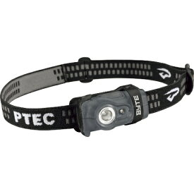 PrincetonTec LEDヘッドライト BYTE IPX4 100lm 本体ブラック BYT90-BK