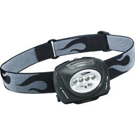 PrincetonTec LEDヘッドライト QUAD IPX7 78lm 本体ブラック QUAD-BK
