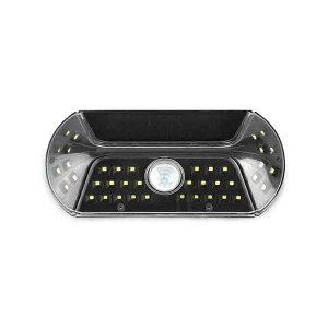 ◎キシマ LEDソーラー人感センサーライト ビジル 屋外用 昼光色 本体色ブラック(黒) 両面テープ付 KL-10378 ≪あす楽対応商品≫