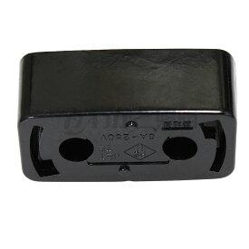 ◎★ 角型引掛シーリングボディ ワンタッチ式 ブラック(黒色) 38204