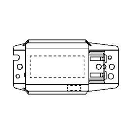 ◎パナソニック グロー式(スタータ形)蛍光灯用安定器 FL15 1灯用 100V 50Hz 半田レス端子(SL端子)付 FZ15111394SW(GX1511MB-15)