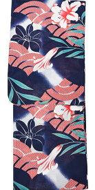 【ワゴンセール】仕立上り浴衣 変わり織り【フリーサイズ】ゆかた【夏祭り】花火 浴衣 単品 レディース浴衣 女性浴衣 YUKATA【メール便不可】ykt203(5)