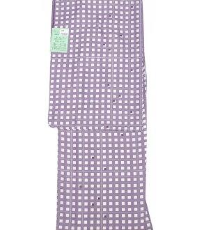 Cloth for 7800 washable kimono newly made crepe プレタ washable geometry Kakuko Shima square appk305(1)