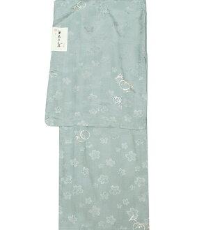 Unlined clothes kimono newly made kimono washable kimono Lady's unlined clothes fine pattern stripe cherry tree cherry tree rabbit rabbit hppk568-l(1) with good-quality domestic cloth washable base design