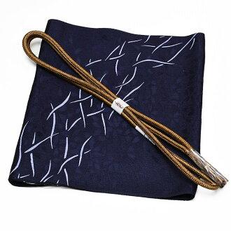 Close 8800 base design obi bustle + fashion zone; Class obi bustle-maru flat group obi cord set dyed cloth without a pattern fine pattern pongee oz-set3231