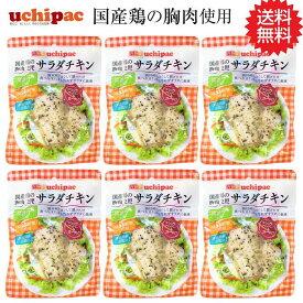 【8/25限定!エントリーでポイント14倍】国産鶏 サラダチキン(ブラックペッパー&ガーリック)6個セット「ネコポス」「メール便で送料無料」