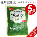 森川健康堂 プロポリスキャンディー 100g×5個セット プロポリスエキス含有 熊本県 はちみつ プロポリス「メール便で…