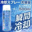 コールドスプレー 500mL 冷却スプレー 冷却 グッズ ひんやり スプレー 瞬間冷却スプレー 大型 冷感スプレー クール