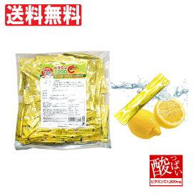 ビタミンC 粉末 スティック 1200mg 約100日分(2g×100包)顆粒 サプリメント そのまま食べれるスティックタイプ 簡易包装 飲みやすい ビタミンCパウダー「メール便で送料無料」