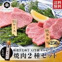 【衝撃半額】高級店の焼肉タレ付き 最高等級 黒毛和牛 A5 焼肉 ロース250gカルビ250g