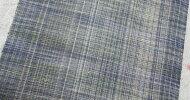 正絹紬反物筬いとぐるまシルクグレー系幅37.5cm紬反物正絹着物きもの着尺店頭見切り品