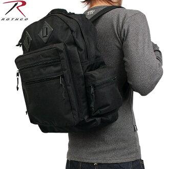 The men's military bag / ROTHCO ロスコデラックスウォーターレジスタントデイパックブラック / military