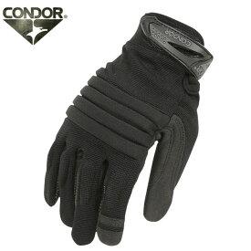 CONDOR/コンドル HK226 STRYKER グローブ BLACK 【ミリタリーグローブ】《WIP》 ミリタリー 男性 ギフト プレゼント【クーポン対象外】[Px]