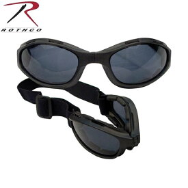 【20%OFFセール開催中】ROTHCO ロスコ 10367 COLLAPSIBLE TACTICAL GOGGLES タクティカルゴーグル 【ゴーグル】/ ミリタリー ギフト