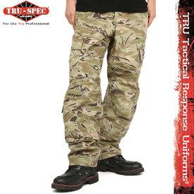 TRU-SPEC トゥルースペック 米軍 タクティカル レスポンス ユニフォーム パンツ Tactical Response Uniform Pants All Terrain Tiger Strip 1263 タイガーストライプ 【クーポン対象外】[Px] アメリカ軍 サバゲー 装備 セットアップ ミリタリー