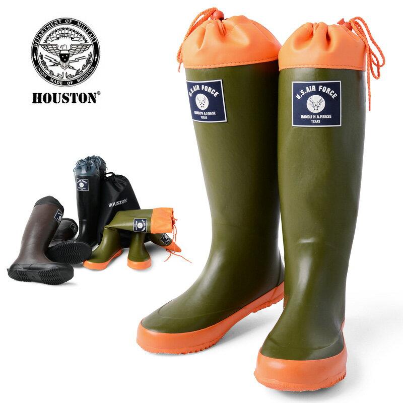 【20%OFF大特価】HOUSTON ヒューストン 6516 RAIN BOOTS レイン ブーツ プレゼント《WIP》ミリタリー 軍物 メンズ 男性 ギフト プレゼント