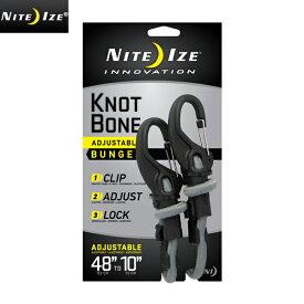 NITE IZE ナイトアイズ KNOT BONE BUNGEE ノットボーンバンジー #9/ミリタリー 軍物 メンズ