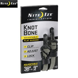 NITE IZE ナイトアイズ KNOT BONE FLAT BUNGEE ノットボーンフラットバンジー/ミリタリー 軍物 メンズ