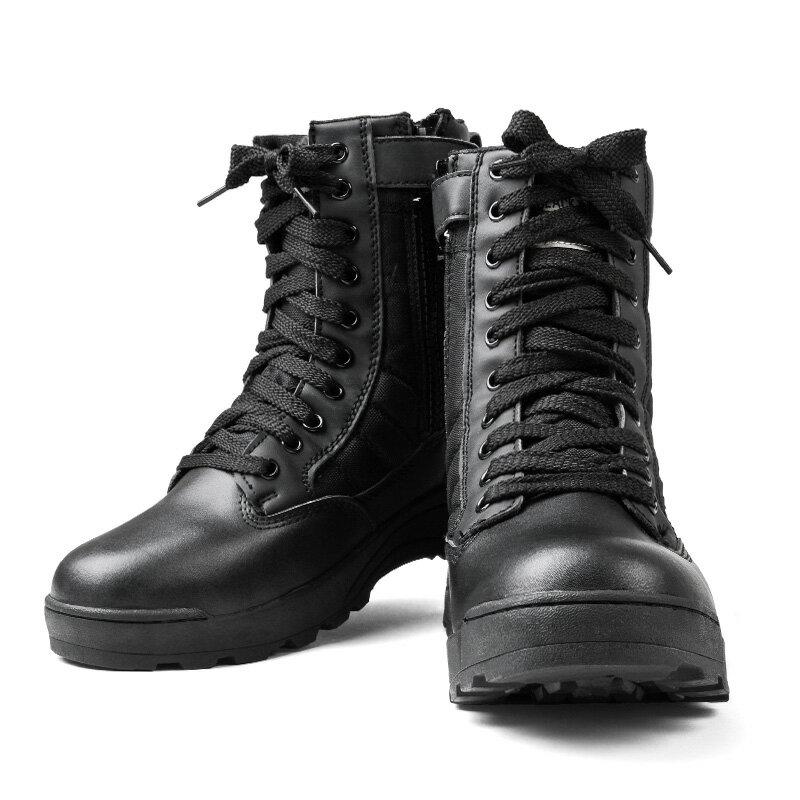 【15%OFF大特価】 新品 SWAT サイドジッパータクティカルブーツ COBRA TYPE BLACK ブラック《WIP》【E】【クーポン対象外】[Px] ミリタリー ギフト プレゼント